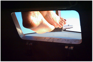 feet through port image for Florida Keys Sailing