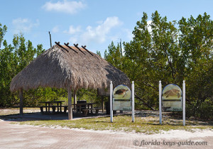 Chickee Hut at Coco Plum Beach