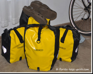 panniers image for Florida bicycling