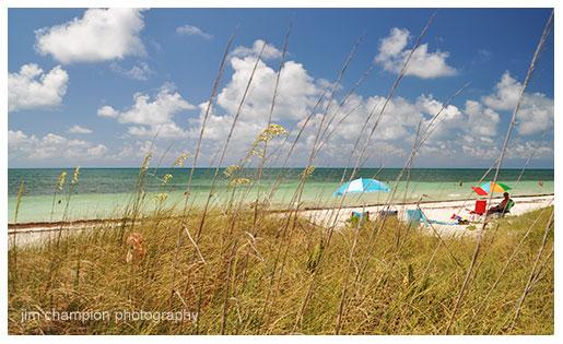 Sandspur Beach for Florida Keys Beaches